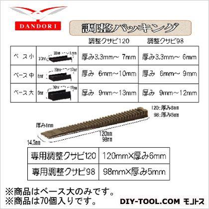 ダンドリビス 調整パッキング ベース大 10号 448-D-270 70個