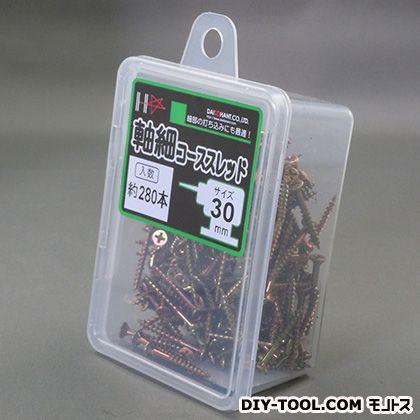 ダイドーハント HC軸細コーススレッド ゴールド 30mm (10176912) 280本