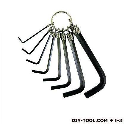 エイト 六角棒スパナ リング付 ミリサイズ 004-2 8本組