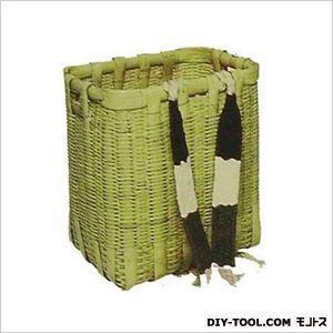 竹製背負い籠(かご)(肩紐付)角大