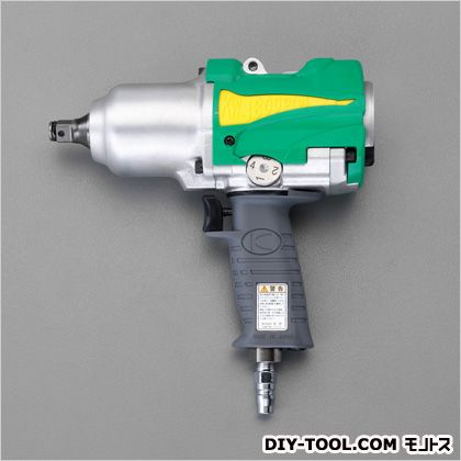 "DRエアーインパクトレンチ(軽量・低振動・低騒音)  1/2"" EA155KB-3"