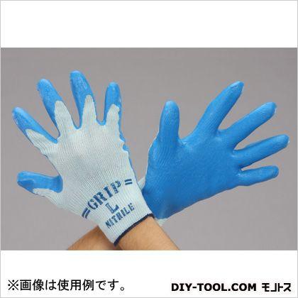エスコ/esco ニトリルゴムコーティング手袋 L EA354GD-27