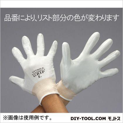 エスコ/esco ニトリルゴムコーティング手袋 LL EA354GD-34