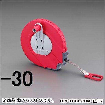 【送料無料】エスコ(esco) ステンレステープ巻尺 50m EA720LJ-50