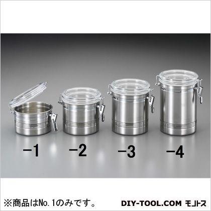 密閉容器(ステンレス製/アクリル蓋付)  127×95mm EA508SR-1