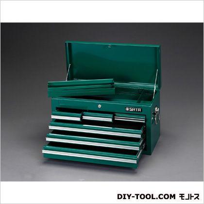 【送料無料】エスコ(esco) 660x305x380mmツールチェスト 660(W)×305(D)×380(H)mm EA683ZD-2