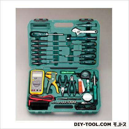 【送料無料】エスコ(esco) 電気工事用工具セット(53点) EA689SA 0