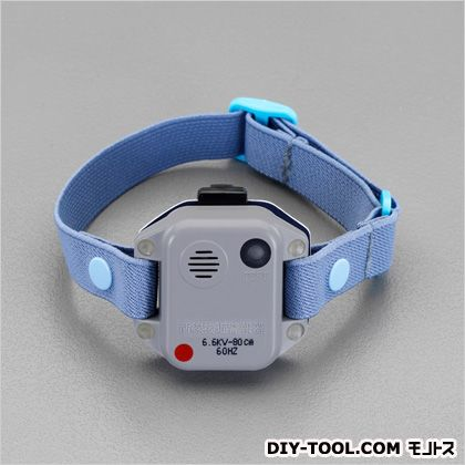 高圧活線接近警報器(上腕取付型/50Hz)  52(W)×16(D)×40(H)mm EA707DW-1