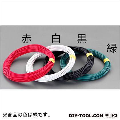 【送料無料】エスコ(esco) 2.0mm2x100mIV電線(撚線) 緑 EA940AT-64