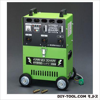 AC100V/90-155A直流アーク溶接機[バッテリー式]  本体:W340×L240×H530(mm) EA315GJ
