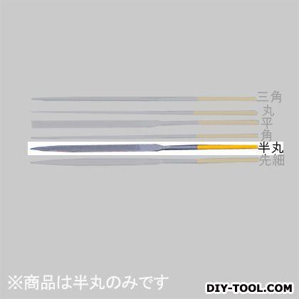 エスコ/esco 精密やすり(半丸/チタンコート/中目) 180mm EA521VE-2B