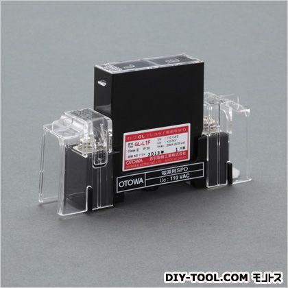 【送料無料】エスコ/esco 440V低圧用避雷器(電源用)  96×25×70(H)mm EA940PT-3  補修・整備ケミカル業務用自動車用部品・資材