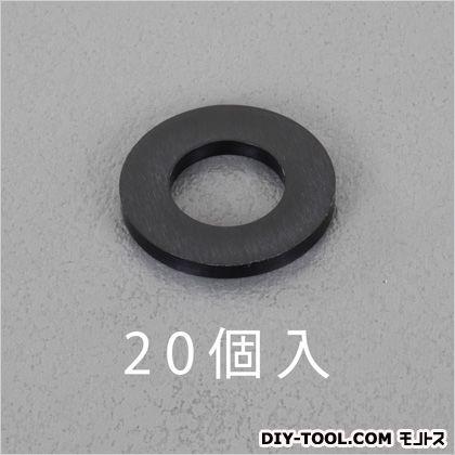 平ワッシャー(ナイロン製)  M5/5.3x10x1.0mm EA949ZB-5 20 個