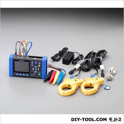 【送料無料】エスコ(esco) デジタルクランプ電力テスター 180(W)×50(D)×100(H)mm EA708BW-1A