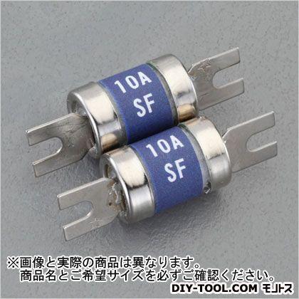 エスコ/esco 15Ax250V再用型筒型ヒューズ(KRE)用内筒エレメント2 φ12×30mm EA758ZV-64 2本