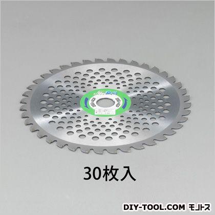 【送料無料】エスコ/esco 255mmx40T超硬チップソー(草刈機用/30枚) EA898B-62芝刈機用替刃・アタッチメント