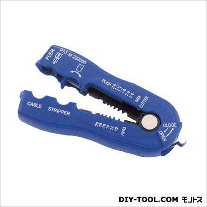 0.8-2.6mm2ワイヤーストリッパー  45(W)×15(D)×117(H)mm EA580SA