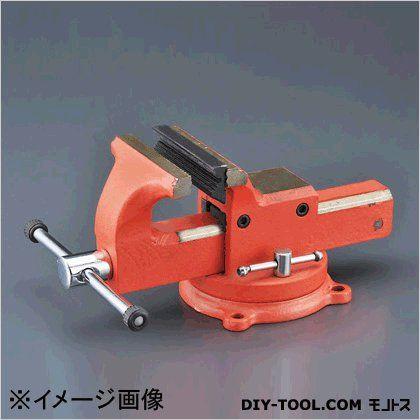 【送料無料】エスコ(esco) ベンチバイス(回転台付) 150mm EA688BA-150