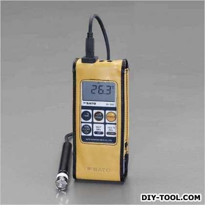 【送料無料】エスコ(esco) -30°/+400℃防水型デジタル温度計 66(W)×25(D)×175(H)mm EA701SA-20
