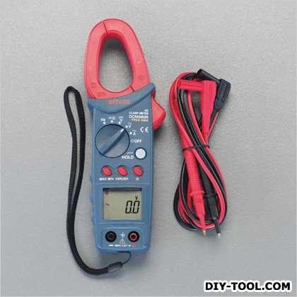 【送料無料】エスコ(esco) デジタルクランプメーター 69(W)×38(D)×208(H)mm EA708D-18