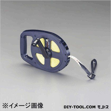 【送料無料】エスコ(esco) ファイバーグラステープ巻尺 30m EA720JT-130