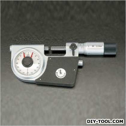 【送料無料】※法人専用品※エスコ(esco) 25-50mm指示マイクロメーター EA725EL-2