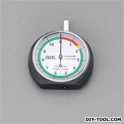 [0/10mm]タイヤ溝ゲージ   EA725F-30