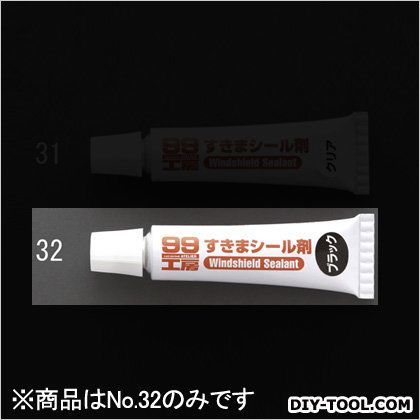 エスコ/esco 30gすきまシール剤 ブラック EA934AS-32