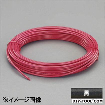 【送料無料】エスコ(esco) ビニール絶縁電線[KIV] 黒 0.75mm2x100m EA940AN-74B