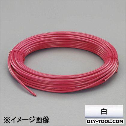 【送料無料】エスコ(esco) ビニール絶縁電線[KIV] 白 2.0mm2x100m EA940AN-202B