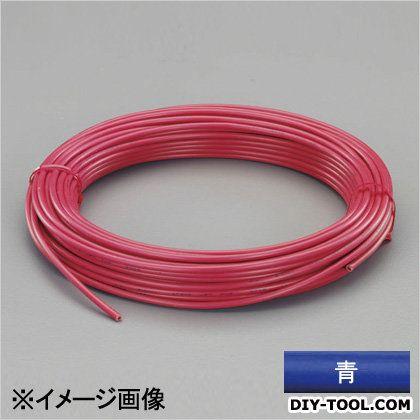 【送料無料】エスコ(esco) ビニール絶縁電線[KIV] 青 2.0mm2x50m EA940AN-203A