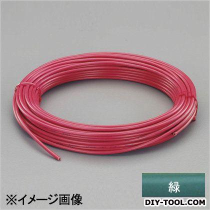 【送料無料】エスコ(esco) ビニール絶縁電線[KIV] 緑 2.0mm2x100m EA940AN-206B