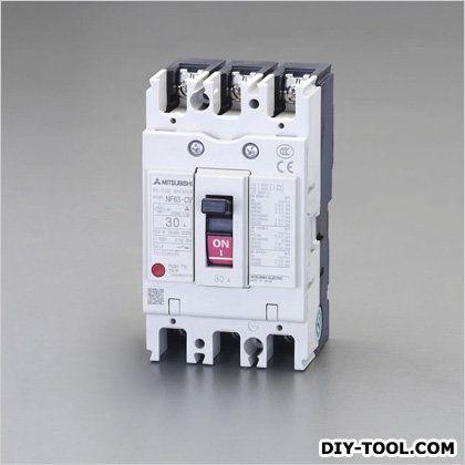 【送料無料】エスコ/esco AC100-240V/30A/3極漏電遮断器(フレーム50)   EA940MN-19  補修・整備ケミカル業務用自動車用部品・資材