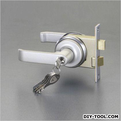 レバーハンドル玄関錠(取替え用)   EA951KB-24