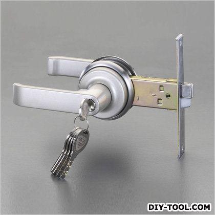 レバーハンドル玄関錠(取替え用)   EA951KB-25