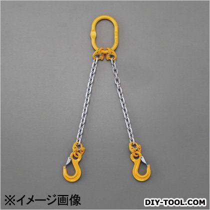 [2本懸け]スリングチェーン  2.7tonx1.5m EA981VD-45A