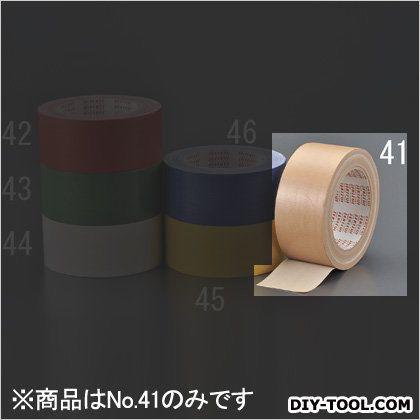 エスコ/esco 布粘着テープ ダンボール色 50mmx25m EA944ND-41