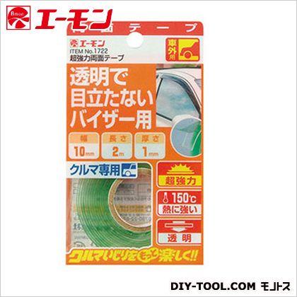 超強力両面テープ 透明 H120×W67×D17mm 1722