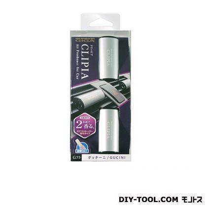 クリッピア(車用エアコンルーバー取付けタイプ芳香剤)グッチーニ   G75
