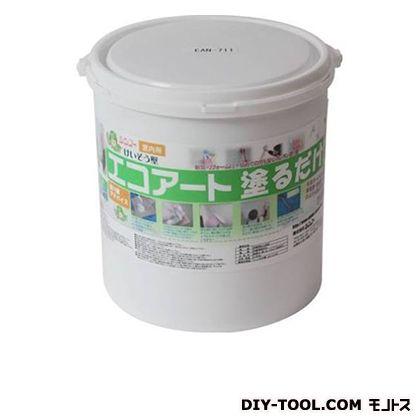 エコアート塗るだけ珪藻土(内装専用塗り壁材) コーンシルク 18kg EAN712
