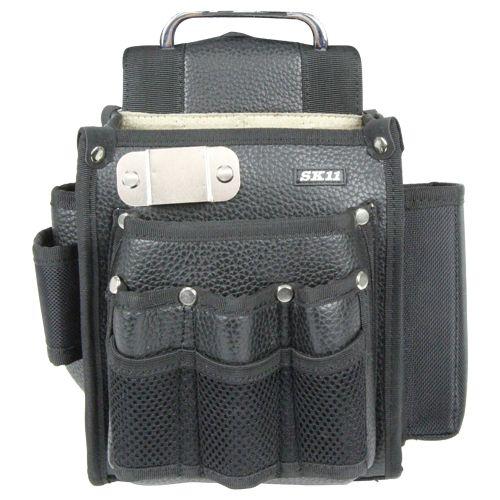 黒腰袋工具差し付きレザー   SC-20L