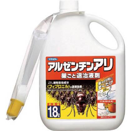 フマキラー アルゼンチンアリ巣ごと退治液剤1.8L 423402