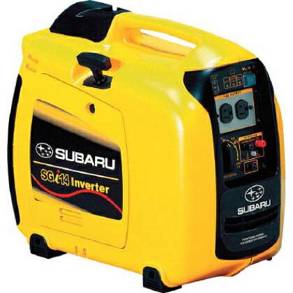 SUBARUポータブルインバータ発電機1台   SGI14 1 台
