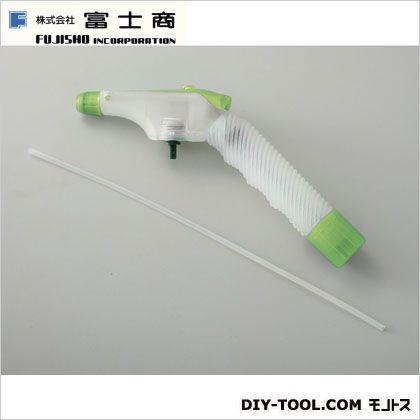 ペットボトル専用加圧式スプレーノズル グリーン 12.5X22X32(cm)/チューブ:φ0.4X28(cm) 6667000