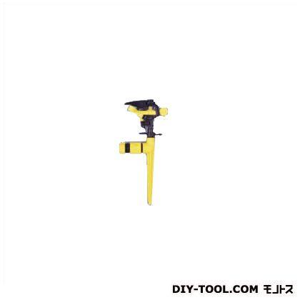 インパクトスプリンクラー イエロー 幅15奥行7高さ29.5(cm) YM-12116E