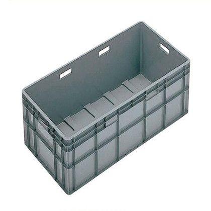 【送料無料】岐阜プラスチック工業 TP規格コンテナー グレイ TP-493L