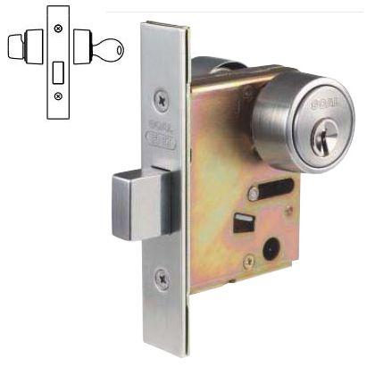 本締錠 玄関錠 シリンダー/サムターン   P-HD-5 BS38 DT29-43