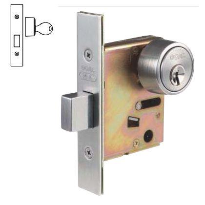 本締錠 外締錠 シリンダー/-   P-HD-7 BS76 DT29-43