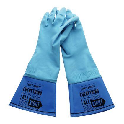 ゲンダイヒャッカ WASHERS ラバーグローブ BLUE レディースフリーサイズ A100BL