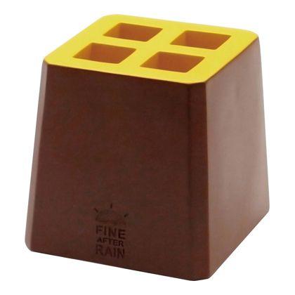 アンブレラキーパー カラーブロック BROWN W105×D105×H105mm K924BR